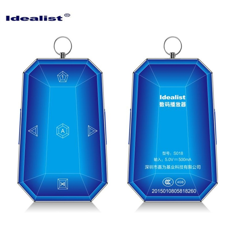 High Quality Brand Idealist mp3 player 4gb with Metal Necklace sport mini mp3 music player Free Music Downloads mp3 music player