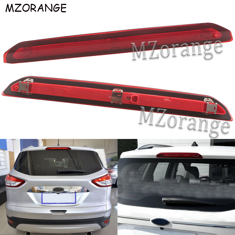 High Positioned Additional Third Brake Light For Ford Escape Kuga 2013 2014 2015 2016 2017 Car-styling Tail Third Brake Light High Positioned Additional Third Brake Light For Ford Escape Kuga 2013 2014 2015 2016 2017 Car-styling Tail Third Brake Light