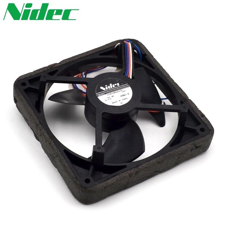 Free shipping original Nidec 12V 0.17A U12E12MS4A3-57 J232 waterproof silent cooling fan