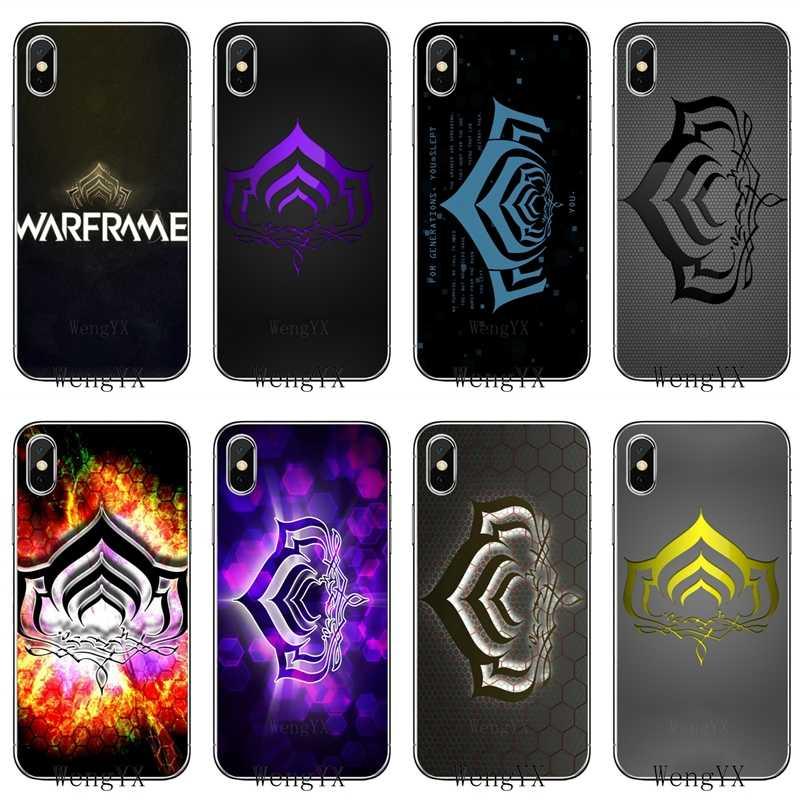 fashion Warframe Lotus silicone TPU Soft phone cover case For ...
