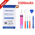 100% Original chensuper 3300mAh EB-BA320ABE Battery for Samsung Galaxy A3 2017 A320F Battery +Gift tools +stickers