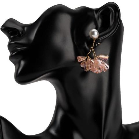 Купить имитация жемчужные серьги с большой подвеской «богемия» висячие