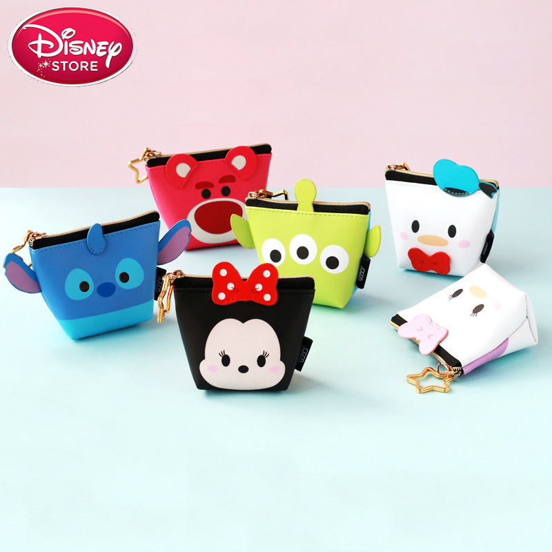 Genuine Disney Bags Mickey Mouse Tsum Multi-function Women Bag Wallet Purse Fashion Mummy Bag For Baby Care Girls Gift