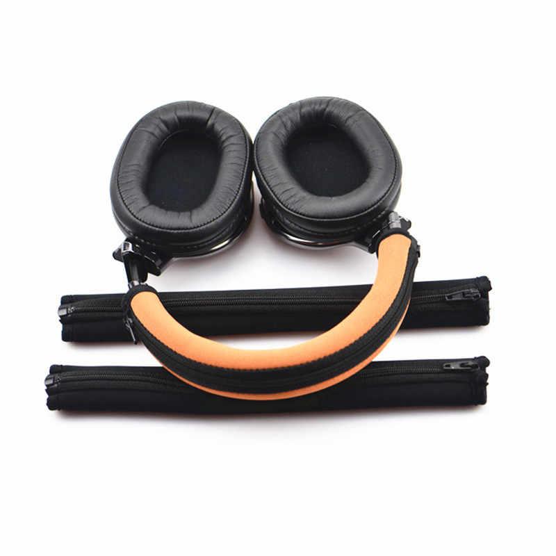LEORY wymiana słuchawki z pałąkiem na głowę skrzynka dla SONY MDR 1A 1 ADAC 1R słuchawki gąbka ochronna z pałąkiem na głowę pokrywa