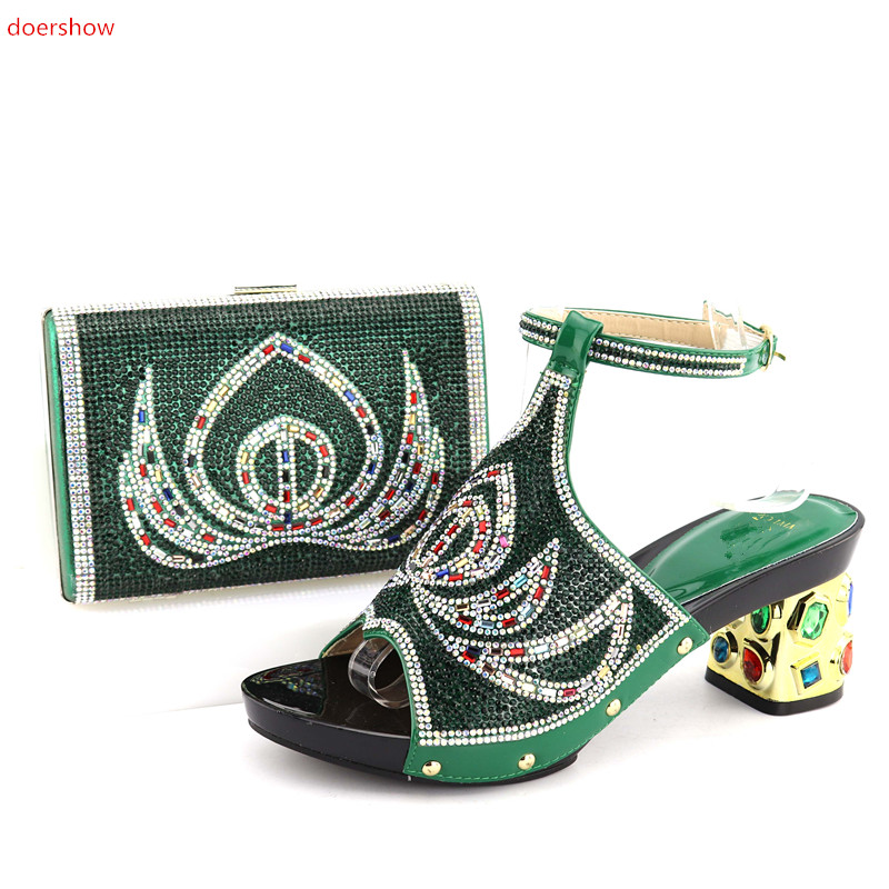 doershow Italian Shoes and Bag Sets Women Shoes and Bag Set African Matching Shoes and Bag Set Decorated QV1-15doershow Italian Shoes and Bag Sets Women Shoes and Bag Set African Matching Shoes and Bag Set Decorated QV1-15