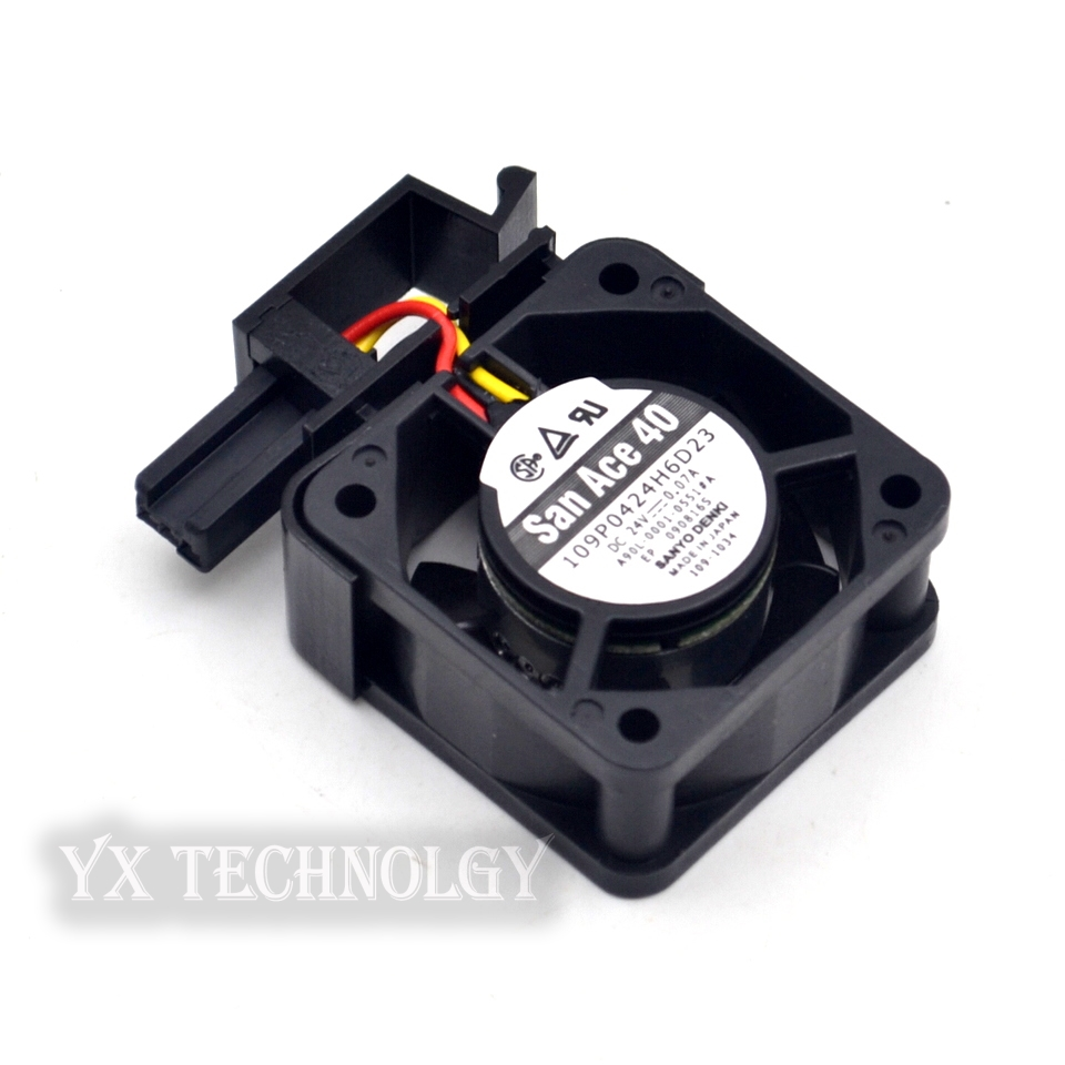 FOR Sanyo SANYO 109P0424H6D23 24V 0.07A 4020 4cm cooling fan
