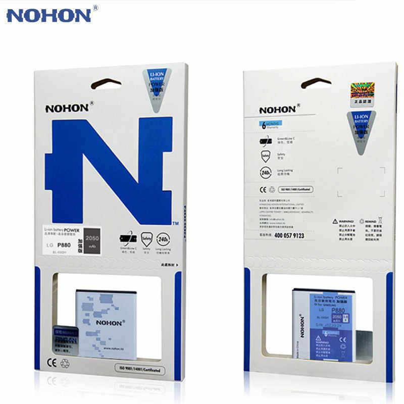 الأصلي NOHON بطارية BL-53QH ل LG Optimus L9 P760 P765 P880 4X HD P768 P870 F160L F200 استبدال Bateria بطاريات ليثيوم