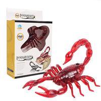 Truco Prank Juguetes Robóticos Insectos Escorpión Mascota Electrónica RC Simulación Escarabajo de Control Remoto Inteligente Modelo Animal Adulto Niño Regalo