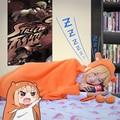 Аниме косплей himouto! Umaru - чан плащ Doma Umaru костюмы домашнее платье + шарф 2 шт. комплект
