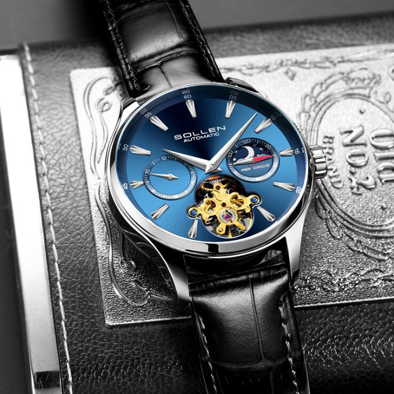 Luxury Brand Men Watches Automatic Mechanical Watch Tourbillon Sport Clock Leather Casual Business Wristwatch Relojes HombreLuxury Brand Men Watches Automatic Mechanical Watch Tourbillon Sport Clock Leather Casual Business Wristwatch Relojes Hombre
