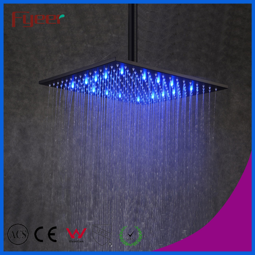 Free Shipping Hot Sale Fyeer 12 Inch Self power Square Black Led ...