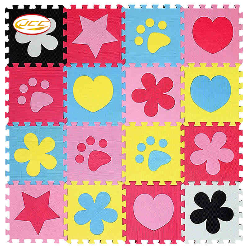 New! JCC baby Foam play puzzle floor mat,6pc/lot Interlocking Exercise Gym Rug carpet Protective Tile for kids(No edge)30x30cm cute letter eva foam baby toy puzzle play mat interlocking game exercise gym tile floor pad child kid 30x30x1 3cm 30pcs 22border
