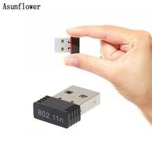 MT7601 мини USB Wifi адаптер 802.11n Антенна 150 Мбит/с USB беспроводной приемник Dongle сетевая карта внешняя Wi Fi Lan карта для ПК