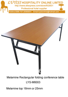 30W x 72D x 30H mm Folding banquet table,Melamine top 18mm or 25mm