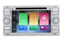 4G+32G 8 Core Android 8.1 Car Radio dvd gps for Ford Focus Kuga Transit Fusion GALAXY 4G Wifi Bluetooth RDS OBD SD USB Free map