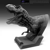 Harz Abbildung Modell Tyrannosaurus Fehlschlag Höhe 14 Cm Lange 18 Cm W2119W