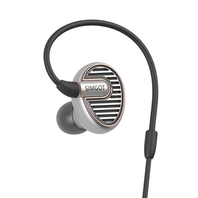 SIMGOT EN700 Flagship All-metal in-ear Monitor Dynamic Earphones Hifi Bass Copper Bird Earphone