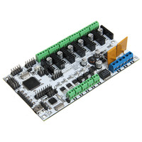 Rumba For 3D Printer Motherboard Rumba MPU RUMBA Optimized Version Control Board With 6pcs A4988 Stepper