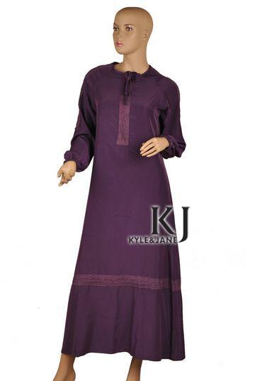 Novelty & Special Use Traditional & Cultural Wear Amicable Muslim Women Dress Islamic Dresses Muslim Women Dress Rayon Fabric Thobe Ladies Kaftan Islamic Abaya For All Seasons Kj-wab4009