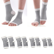 1 Pair Unisex Compression Foot Sleeves - Plantar Fasciitis Socks for Any Activities