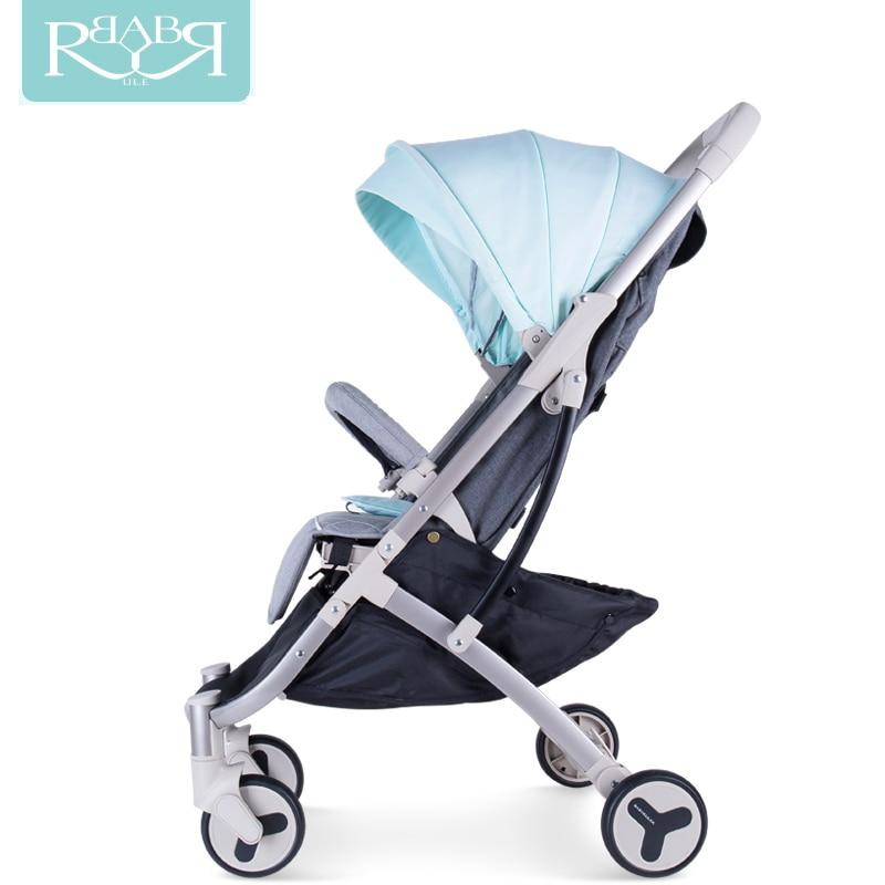Babyruler lightweight Portable baby stroller mini size baby carriage 3 in 1 Pram Pushchairs can sit or lie children Kinderwagen tango