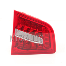 Rear Light tail light Inner For Audi A6 C6 S6 Quattro RS6 Saloon Sedan 2009-2011 LED Rear Brake Bumper Assembly Tail Stop Lamp for chery a3 sedan reversing light rear tail lamp assembly brake light lamp tail light assembly