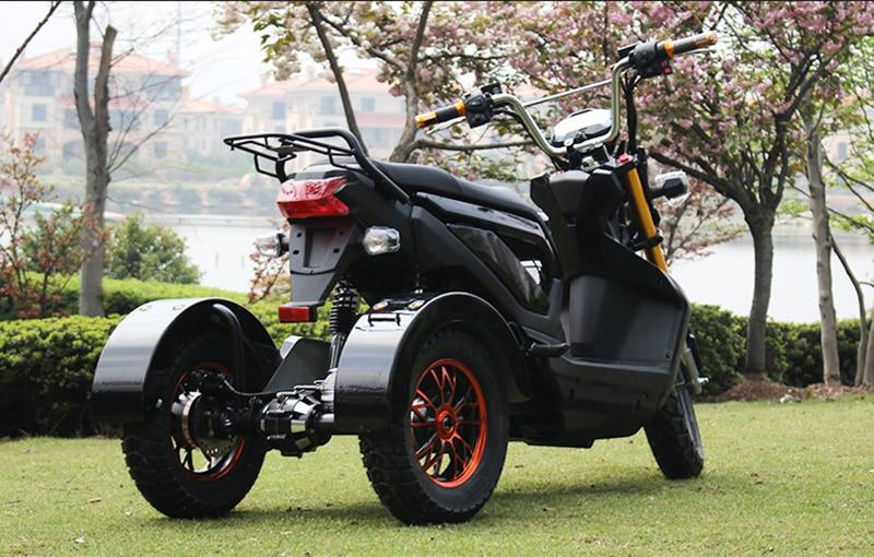 Электрический трехколесный скутер 1000 Вт 60 в с двойным дисковым тормозом, трехколесный велосипед, прочный, мощный, для езды на велосипеде, для взрослых, Yongers, для инвалидов