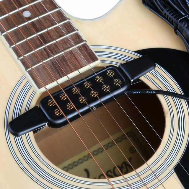 High Quality Acoustic Guitar Pickup Sound Hole Classical Guitar Pickup Connect Amplifier Pickup Guitar Musical Instruments