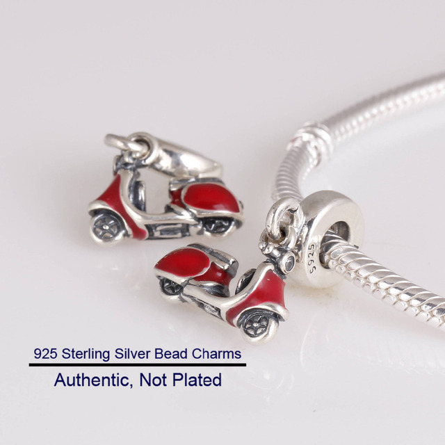 0ebbd247a promo code for fits for pandora bracelets red scooter charms 100 925  sterling silver beads free