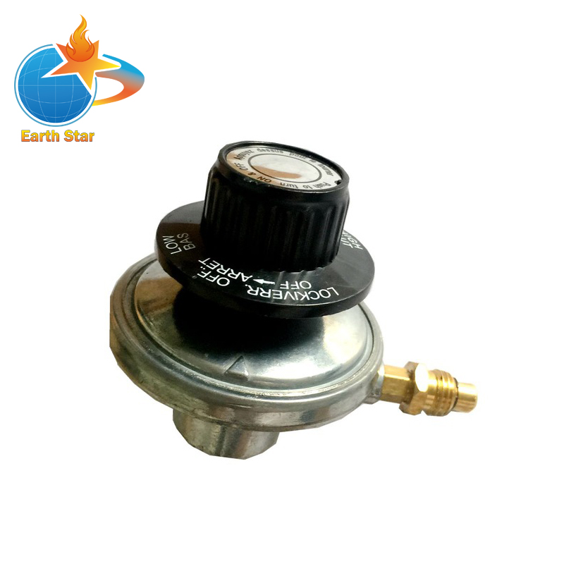EARTH STAR LPG One Pound Tank Adjustable Propane gas regulator M12*1 with nozzle 0.7mm promotion price