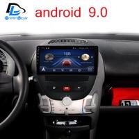 Android 9,0 система автомобиля ips сенсорный экран стерео для Peuget 107 Toyota Aygo Citroen C1 2005 2013 лет стерео
