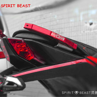 Spirit Beast Motorcycle Accessories CB190 tail handrail CNC aluminum alloy personality rear armrest motorbike styling Free ship