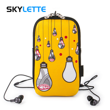 Original Pattern Mobile Phone Arm Bag Waterproof Large-capacity Sports Unisex Band For 4-6 inches iPhone Samsung Huawei Mi