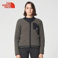 Intersport The North Face Women S Winter Down Jackets Windbreaker V Neck Jackets Hiking Cotton Fleece