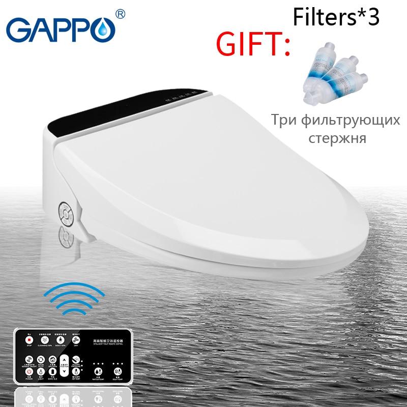 GAPPO toilet smart seat toilet seat bidet Washlet Electric toilet seats cover Washlet Electric warm toilet seat cover
