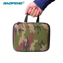 Baofeng Walkie Talkie UV 5R, bolsa de camuflaje, protector de Radio UV 5R de nailon, funda de almacenamiento portátil para accesorios de Radio 5RA