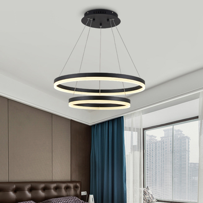 Modern LED Pendant Lights For Living Dining Room DIY Hanging Lighting  AC85~265V Aluminum Decoration Pendant Lamp Free Shipping