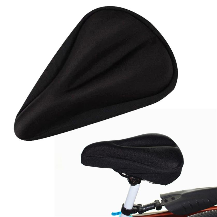 cycle zone# high quality hot New Soft Bike Bicycle Cycle Extra Comfort Gel Pad Cushion Cover For Saddle Seat free shipping t*f