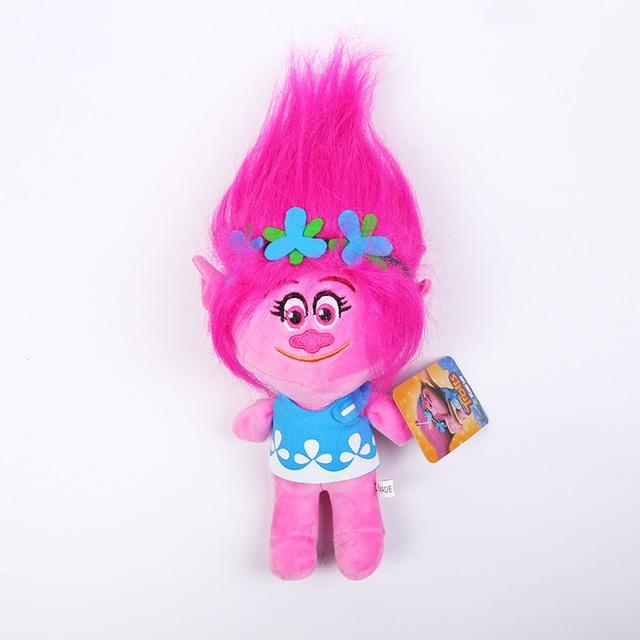 6 pièces/ensemble Dreamworks Trolls jouets en peluche branche coquelicot bestiole Skitter Biggie poupées à collectionner Trolls enfants ont souffert jouet en coton