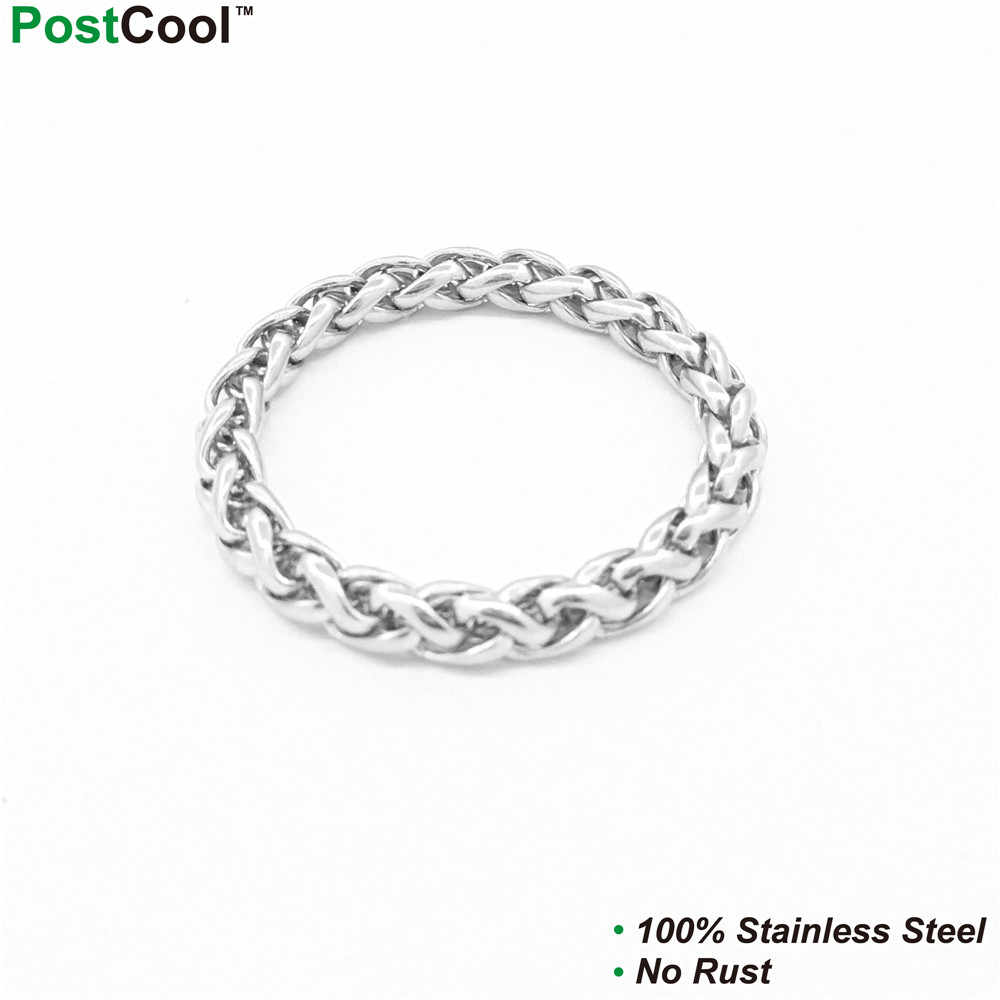 3MM Width Keel Style Stainless Steel Chain/ Chain Necklace 40/45/50/55/60/65cm Long/ Wrist Chains 18/20/22CM Long/ Finger Chains
