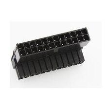 Atx 24pin atx 90 graus 24 pinos a 24pin, alimentação plug adaptador mainboard, placa mãe, conectores, fonte de alimentação modular, cabos