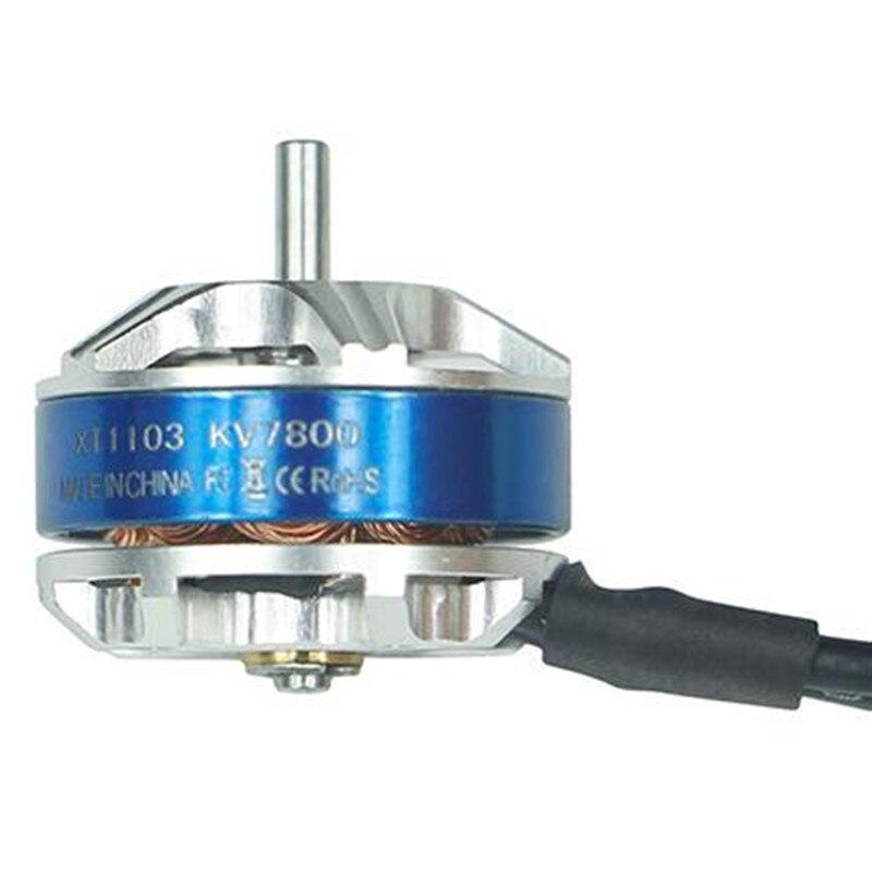 Ldarc высокое качество мини XT1103 7800KV бесщеточный Двигатель с винтом для ET100 RC Мини multirotor Quadcopter