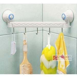 GA1113 Suction wall five linked hook high quality 29*10cm 2pcs/lot free shipping