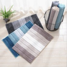 Entry Door Mat Bathroom Anti-slip Pad Absorbent Comfort Soft Plush Bathtub Anti-slip Carpet Mat Bathroom Absorbent Mat pebble series flannel printing home anti slip absorbent entry mat bathroom mat door mat bedside mat