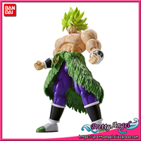 Genuine Bandai Figure rise Standard Assembly Dragon Ball Super Super Saiyan Broly Full Power Plastic Model Action Figure