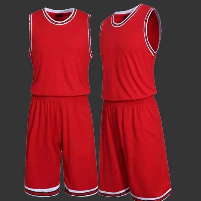 c654f92c0867 Baloncesto sin mangas conjuntos para hombres entrenamiento deportivo camisa  y Short Set adultos ropa de baloncesto
