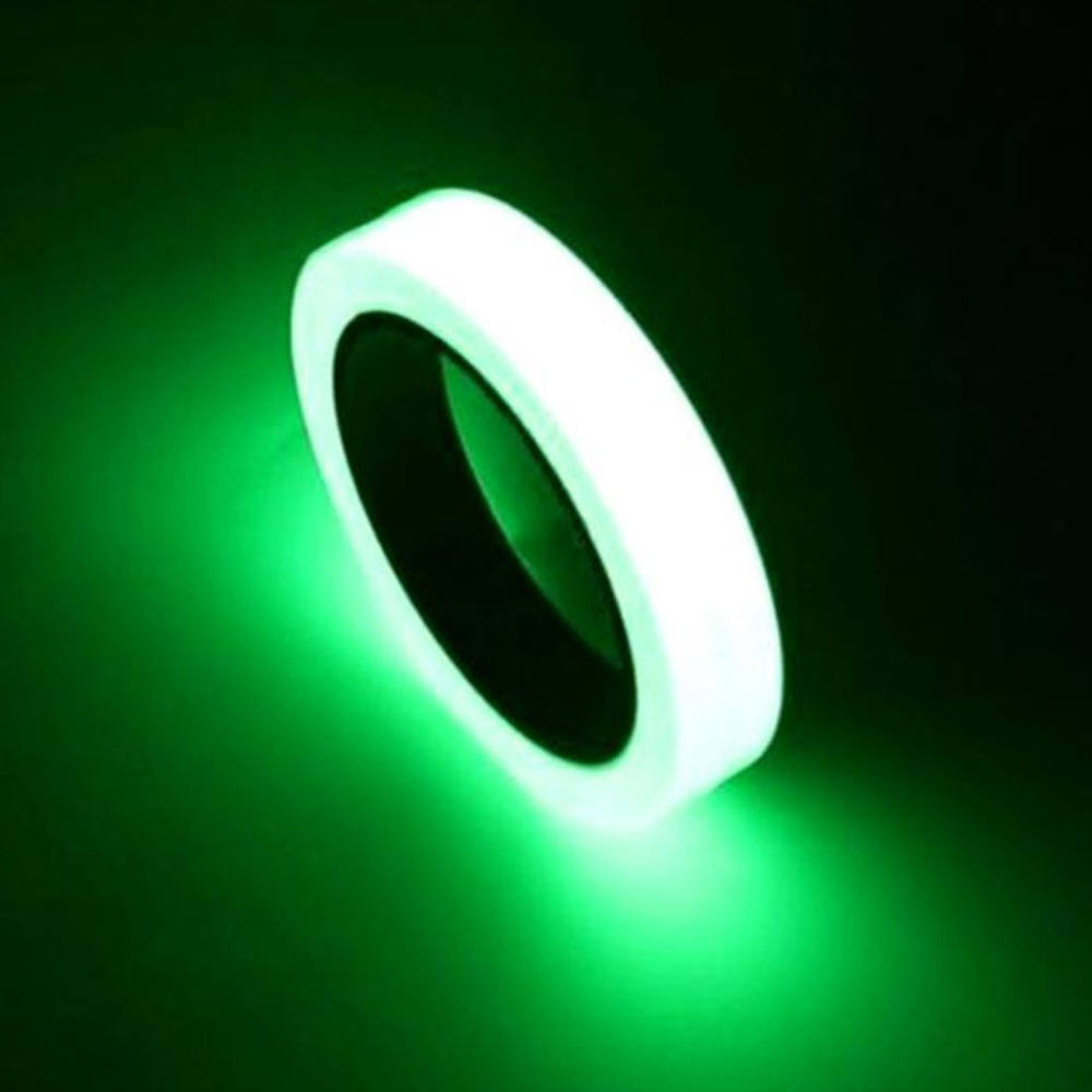 3M 12mm Home Decoration Luminous Tapes Luminous Tape Self-adhesive Warning Tape Night Vision Glow In Dark Safety Security