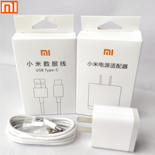 Original xiaomi mi mix 2 Fast charger for xiaomi mi 6 5s plus MDY-08-ES 5V/3A USB Wall quick charge adapter &Type-c data cable