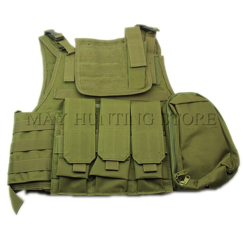 ФОТО Outdoor CS Military Tactical Army Hunting Vest Oxford Molle Waistcoat Combat Assault Plate Carrier Vest CS Game Accessory