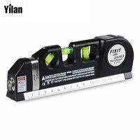 1 Pcs 630 680nm Laser Levels Measuring Equipment Laser Aligner Horizon Vertical Line Measuring